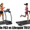 Sole F63 vs LifeSpan TR1200i Comparison